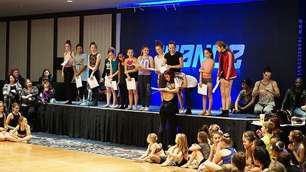 Scholarship Awards Ceremony - SDF Dance Tours - Paris & Barcelona