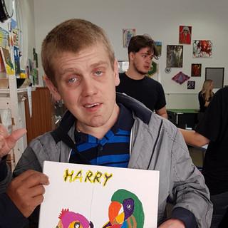 Harry's parrots