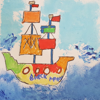 Johnny's pirate ship