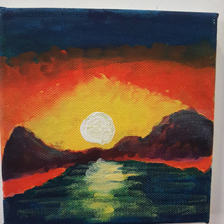 Harvey's sunset