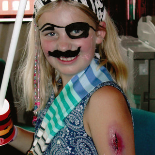 Hannah on Pirate Week