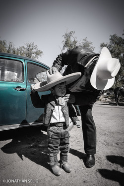 VW and Little Charro