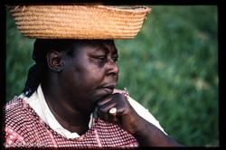 Black Woman on River Bank