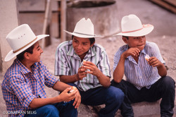 Three White Hats