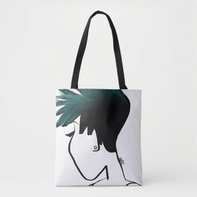Spiked Ombre Tote
