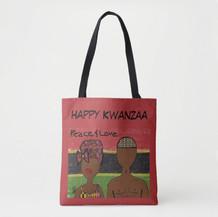 Happy Kwanza Canvas Bag