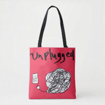 Unplugged Tote