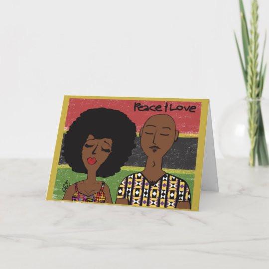Modern Kwanza Card