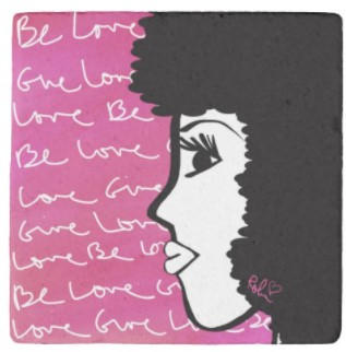 Be Love Stone Coaster