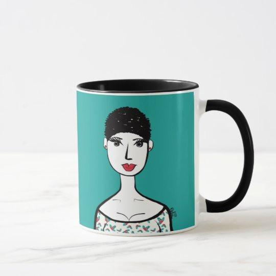 Holly Christmas Mug