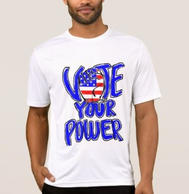 Vote Your Power Men's TShirt