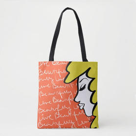 Live Beautifully Tote