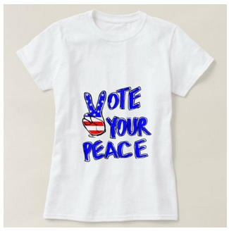 Woman Vote Your Peace TShirt