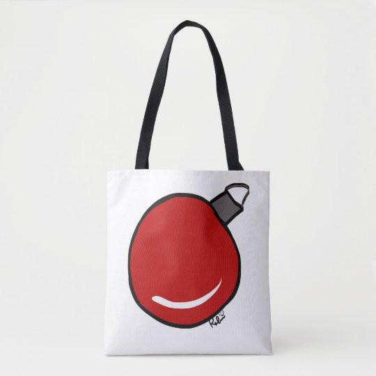 Tree Ornament Canvas Bag