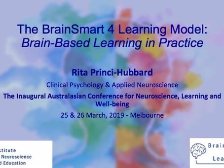 The BrainSmart 4 Learning Model:  Brain-Based Learning in Practice