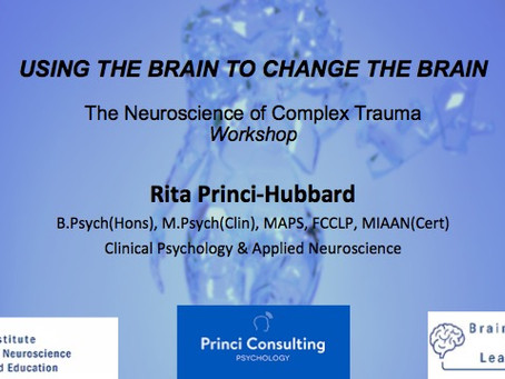 Using The Brain To Change The Brain The Neuroscience of Complex Trauma Workshop