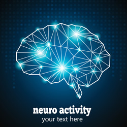 Abstract Human Brain Medical Logo,Neurology Anatomical Conception