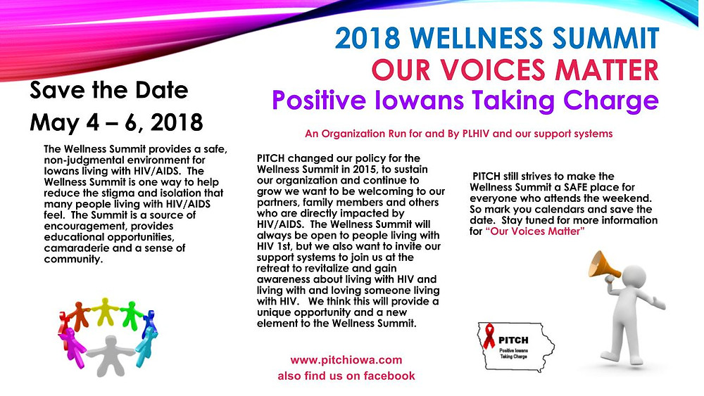 2018 Wellness Summit May 4-6, 2018