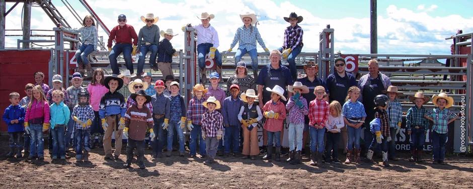 Buckaroo kids day was a huge success!