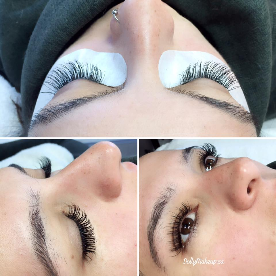 Dramatic Flat Lashes