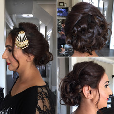 Party hair style