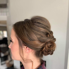 Bridal up-do