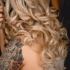 Beautiful Bridal curls