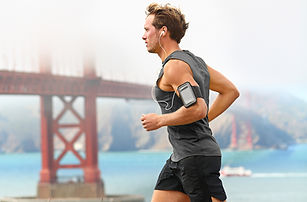 Healthy Man Running