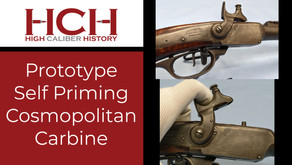 Prototype Self Priming Cosmopolitan Model 1859 Carbine