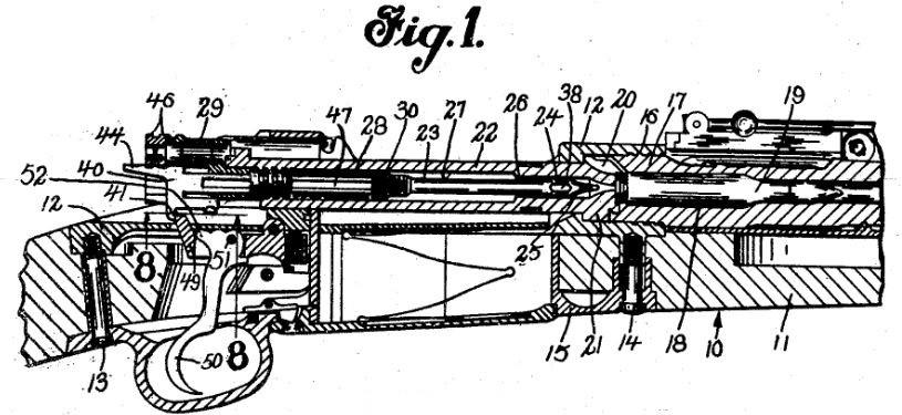 patent, Garand, rifle