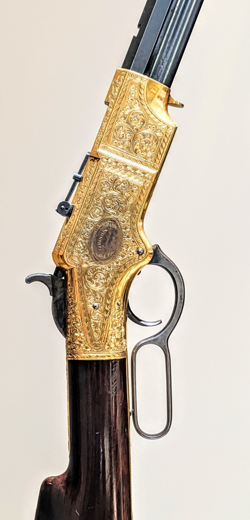 Abraham Lincoln's Henry rifle
