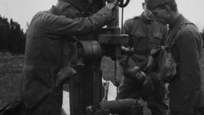 Drilling Into a Shell Filled with Mustard Gas