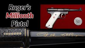 One Millionth Ruger Standard Pistol