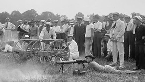 "M1895 ""Potato Digger""  & Lewis Machine Guns"
