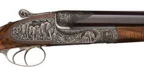 Engraved Big Game Guns Go for Big Money