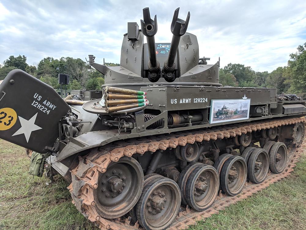 M42, duster, tank