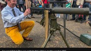 Unfortunate Fate of a Vickers Machine Gun