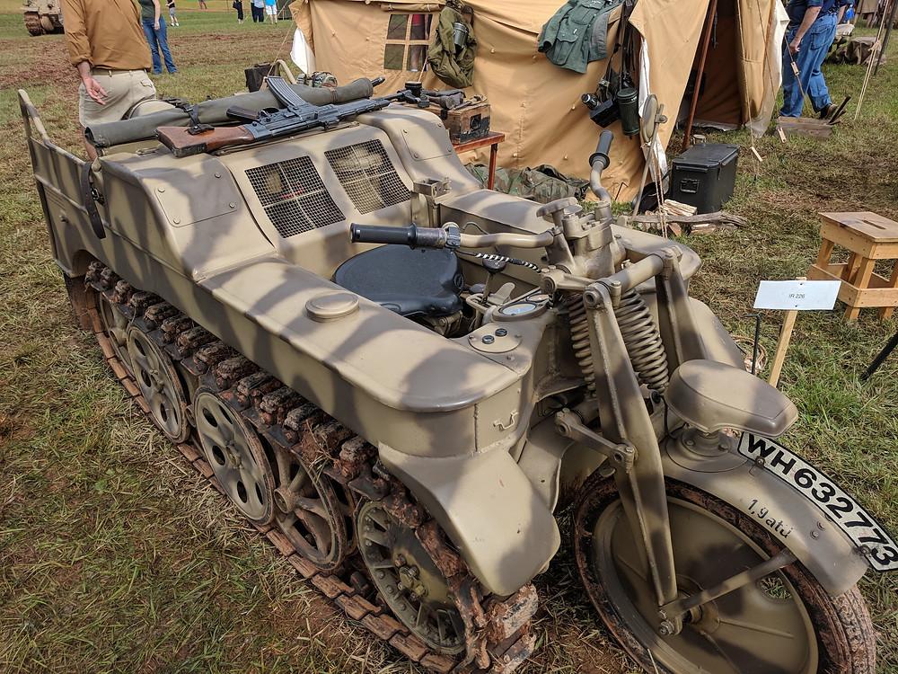Kettenkrad, SdKfz 2 Kettenkrad HK 101