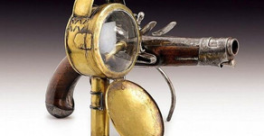 French Gun Lantern at Windsor Castle