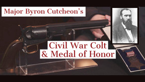 Major Byron Cutcheon's Colt 1851 Navy and Medal of Honor