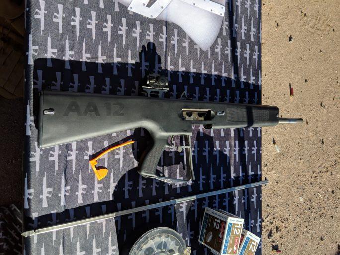 AA-12, AA12, shotgun, shot show, logan metesh, high caliber history