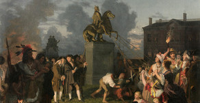 From Monarch to Musket Ball: Repurposing NYC's George III Statue