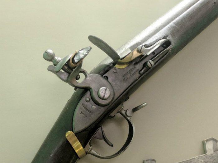 Virginia, musket, revolution