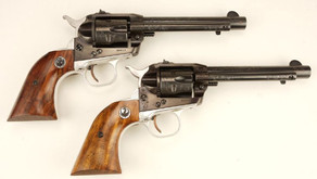 Factory Engraved Ruger Revolvers
