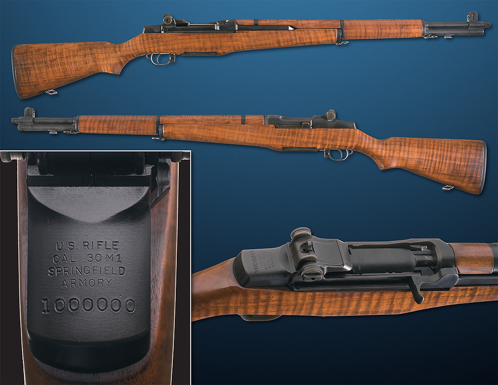 Garand, rifle, M1, presentation, rock island auction