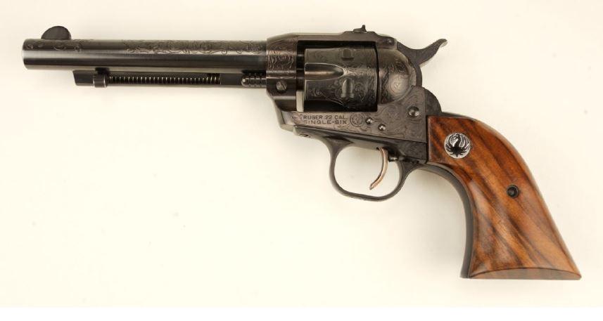 Ruger, revolver, engraving