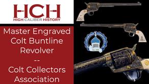 Master Engraved Colt Buntline Revolver