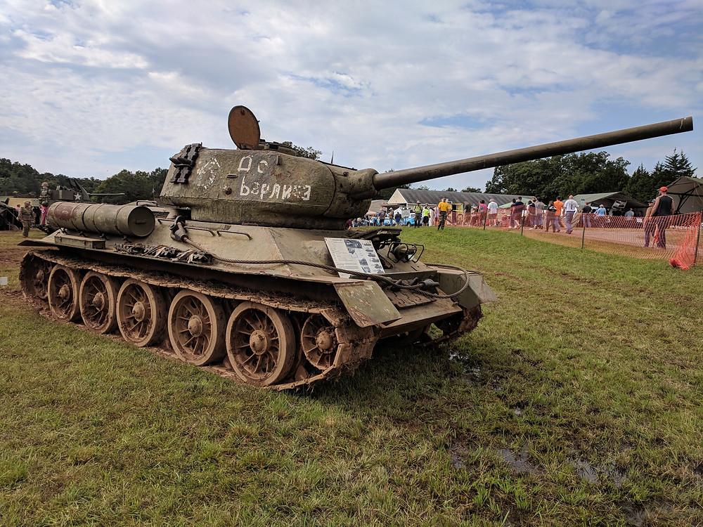Soviet, T34/85, tank