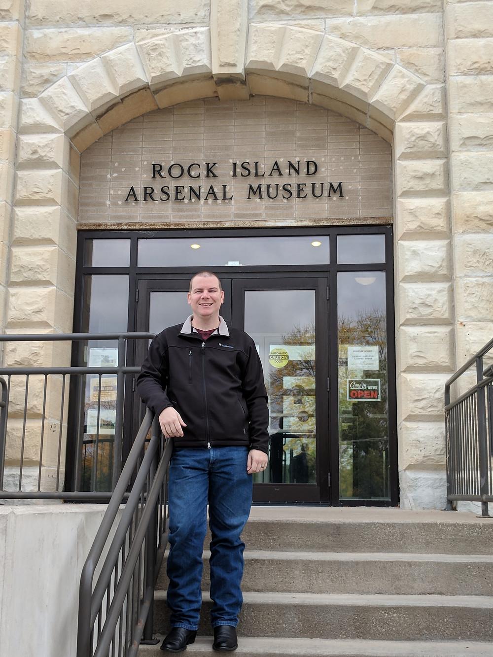 rock island, museum, logan metesh