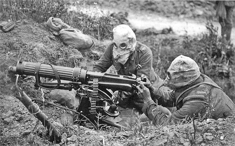 vickers machine gun, wwi, logan metesh, high caliber history